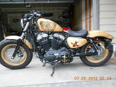 Sailor  Jerry Custom Harley