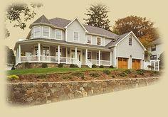 Custom Colonial 1 By Westchester Modular Homes Two Story Floorplan Brown Garage Door Doors