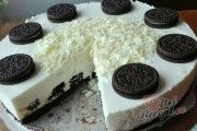 Oreo cheesecake without baking, prepared in 30 minutes - Germany Rezepte Ideen Oreo Cheesecake, Cheesecake Recipes, Oreo Biscuits, No Bake Treats, Vanilla Flavoring, Oreo Cookies, No Cook Meals, Bakery, Food And Drink