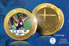 Lähde sinäkin München 1972 -mitalin myötä Pohjoisen tähtien mukaan ja tilaa uutuusmitali etuhintaan 14,50 euroa!   Suomi osallistui ensimmäistä kertaa olympialaisiin itsenäisenä valtiona tasan sata vuotta sitten. Siitä lähtien urheiluhullu kansamme on saanut ihailla ja seurata sankareitamme, Pohjoisen tähtiä, jotka ovat urheilleet meidät maailmankartalle, tuoneet mainetta ja kunniaa ja tarjonneet lukuisia unohtumattomia hetkiä. Olympic Team, Finland, Olympics, Maine