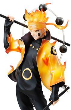 Name: Uzumaki Naruto Hersteller: Megahouse Material: PVC Herkunft: Naruto Shippuuden Scale: 1/8 Größe: 215 mm Release: Juni 2016 Preis: 11.000 ¥