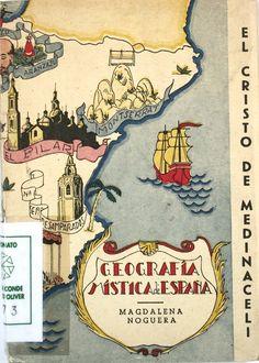 """""""El Cristo de Medinaceli"""", firmado por Magdalena Noguera, Madrid, Alhambra, [1944] (Geografía mística de España)."""