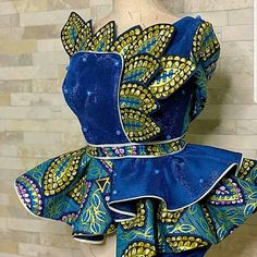 Trending Female Fashion African Fashion Ankara, Latest African Fashion Dresses, African Dresses For Women, African Print Dresses, African Print Fashion, African Attire, African Lace Styles, Ankara Styles, African Blouses