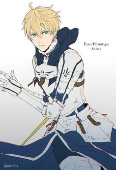 No larger size available - Fate Zero Character Concept, Character Art, Character Design, Anime Guys, Manga Anime, Anime Art, Fate Zero, Fate Stay Night, Rei Arthur