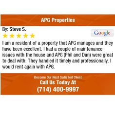 I am a resident of a property that APG manages and they have been excellent. I had a...