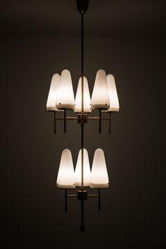 Hans-Agne Jakobsson ceiling lamp model T-58/8 at Studio Schalling