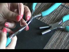 Make Ear wires quick and easy - YouTube