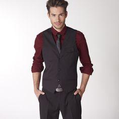 Para Y No Es Una Que Jeans Hombres Se Camisa Negra Ideal Oscuros 0qn5FS