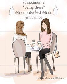 """Heather A. Stillufsen (Rose Hill Design Studio), """"A Being There Friend"""""""