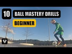 10 BEGINNER BALL MASTERY EXERCISES | U6 - U7 - U8 - U9 - U10 - U11 - U12 | FOOTBALL - SOCCER - YouTube Soccer Drills, Soccer Coaching, Soccer Training, Soccer Players, Alabama Football Funny, Football Soccer, Football Tricks, Training Exercises, Workout Exercises