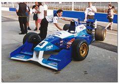 Allan McNish - Reynard 95D Cosworth AC- Paul Stewart Racing - BRDC International Trophy - 1995 International F3000 Championship, round 1 - © Antsphoto