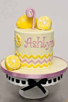 Cute summer birthday cake!