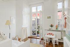 Airy Apartment in Sweden, design, décor, interior, Sweden, white, clean, cozy, nursery