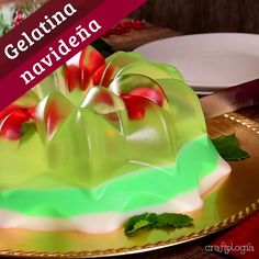 Jello Dessert Recipes, Gelatin Recipes, Christmas Appetizers, Christmas Treats, Gelatina Jello, Chocolate Tree, Cake Decorating Piping, Jelly Cake, Low Carb Meal Plan
