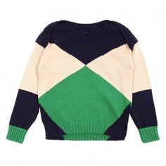 Pumpkin sweater - Navy blue Stella McCartney  Organic cotton and cashmere knit