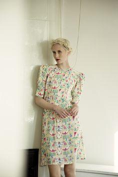 Moomin by Ivana Helsinki - Laura de Lille Scandinavian Fashion, Textiles, Mode Inspiration, Helsinki, My Wardrobe, Dress To Impress, Plus Size Fashion, Fashion Brands, Style Me