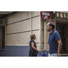 Crossing paths #streetphotography #photography #photooftheday #city #people #urban #Murcia #spain