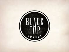 Dribbble - Black Tap Coffee by Jerron Ames — Designspiration