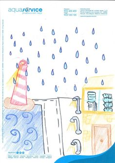 Así ve la mascota de Aquaservice Beatriz, 9 años. Ganador del concurso Expojove'13 (categoría: de 9 a 12 años)
