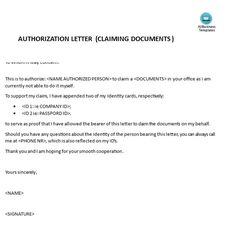 Authorization Letters Templates The authorization letter template makes it easy for you to find representatives to attend important events. Letter Format Sample, Letter Example, Letter Templates, Identity, Names, Lettering, Lab, Business, Check