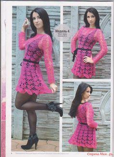 Платье из мохера от Лилиты - Вяжем вместе он-лайн - Страна Мам