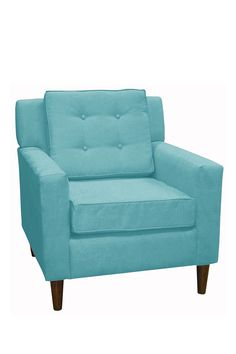 Arm Chair - Premier Azure-- would love an armchair like this for my studio  nice project for Barbie size in 1:6 scale