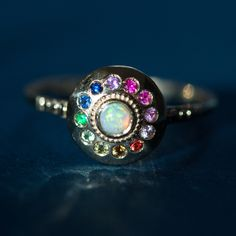 We love all things tiny, shiny and gold. UFO Ring