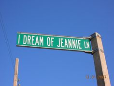 i dream of jeannie lane cocoa beach florida Found this when visiting Disney World!!
