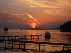 The best picture I have ever taken. Cavtat, Croatia sunset.