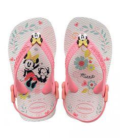 f2ebda4a1d3 Havaianas Tongs Baby Mickey E Minnie Blanc Tutti Frutti