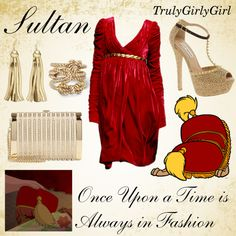 Disney Style: Sultan, created by trulygirlygirl on Polyvore