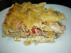 dianitas cooking: Σουφλέ Μακαρόνια Cookbook Recipes, Cooking Recipes, Lasagna, Macaroni And Cheese, Ethnic Recipes, Food, Recipes, Mac And Cheese, Essen
