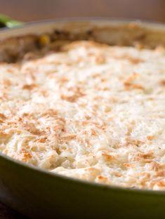 Turkey and Mushroom Shepard's Pie Recipe