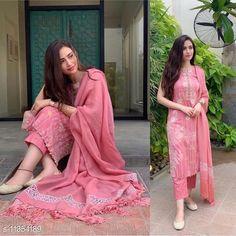 Dupatta Sets Beautiful Rayon Kurta, Pant and Dupatta Set Kurta Fabric: Rayon Bottomwear Fabric: Rayon Fabric: Rayon Sleeve Length: Sleeveless Set Type: Kurta With Dupatta And Bottomwear Bottom Type: Pants Pattern: Printed Multipack: Single Sizes: XL (Bust Size: 42 in)  L (Bust Size: 40 in)  M (Bust Size: 38 in)  XXL (Bust Size: 44 in)  Multipack: 1 Country of Origin: India Sizes Available: M, L, XL, XXL   Catalog Rating: ★3.9 (554)  Catalog Name: Women Rayon Flared Embroidered Long Kurti With Palazzos And Dupatta CatalogID_2126535 C74-SC1853 Code: 245-11354189-4641