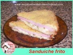Sanduiche frito - Espaço das delícias culinárias
