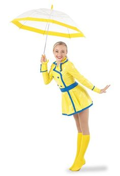 Singin' in the Rain Character Costume Halloween Dance Costumes, Rain Costume, Jazz Dance Costumes, Ballet Costumes, Teacher Costumes, Crazy Outfits, Cute Girl Outfits, Dance Outfits, Cute Raincoats