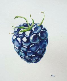 # ботанический_баттл Hashtag auf In . Pencil Art Drawings, Cool Art Drawings, Realistic Drawings, Colorful Drawings, Art Drawings Sketches, Horse Drawings, L'art Du Fruit, Fruit Art, Fruit Cakes