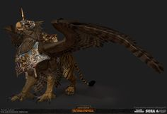 ArtStation - Total War: Warhammer- Deathclaw, Matthew Davis