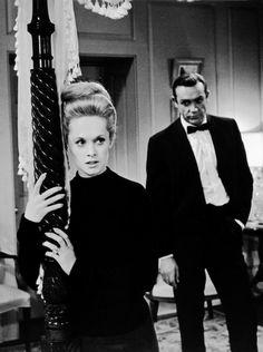 """Sean Connery y Tippi Hedren en""""Marnie, la ladrona"""" (Marnie), 1964"""