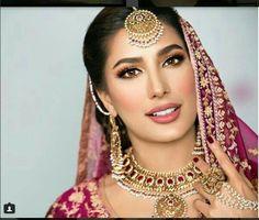 Mehwish Hayat Pakistani Wedding Dresses, White Wedding Dresses, Indian Dresses, Indian Outfits, Black And Silver Eye Makeup, Beautiful Indian Actress, Beautiful Women, Pakistani Actress, Supergirl