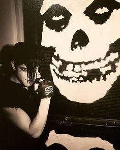 Glenn Danzig Of The Misfits .....