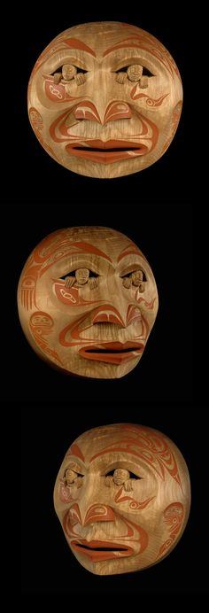 Moon Mask Wayne Young (Nisga'a / Haida)