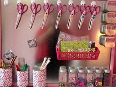 {a place for everything…art supplies}