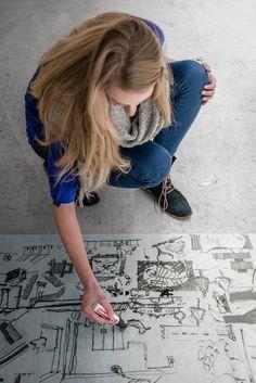 Come Create Architecture: Imagepics 2015 Architektur HFT Stuttgart: Photographer: Klaus Mellenthin, Styling Room & Cloth: Irmela Schwengler, Hair & Make-Up: Katja Luz, Photographers Assistant: Arne Hartenburg, Styling Assistant Room: Daniel Unger, Styling Assistant Cloth: Anna Gubiani, Concept: Sondermann, Mellenthin, Angus, Jänicke, Schwengler, Production: Annabel Angus, Cornelia Jänicke