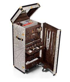 henri bendel jewelry trunk - designer luggage - wheeled luggage