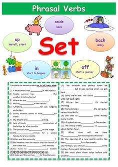 Phrasal verbs Set