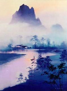 Li River Morning by Hong Leung