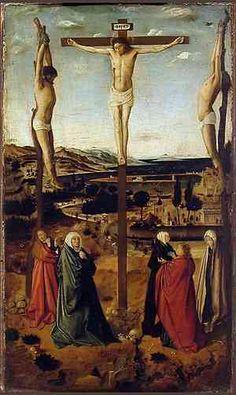 Antonello da Messina, The Sibiu Crucifixion (1454-1455), Brukenthal National Museum Sibiu, Romania