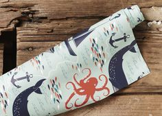 The perfect gift wrap for your sea-loving mate