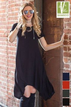 Tanboocel Bamboo Short Sleeve Pocket Knee length Dress   Style #43891 $22.99 Shop Dress: http://ift.tt/2hD0o9b --------------------------------------------------------------- #cocolove #tunic #dresses #tanboocelBambooDress #casualdress #bamboo #womensdress #fallcloset #highfashion #stylist #styleish #fashion #fashionista #newstyle #newarrivals #fall2016 #BESTEVER #fallvibes #bestseller #boutique #liketolike #tbt #followme #cute #beautiful #love #ootd #picoftheday #like4like